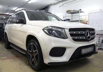 Шумоизоляция Mercedes-Benz GLS.